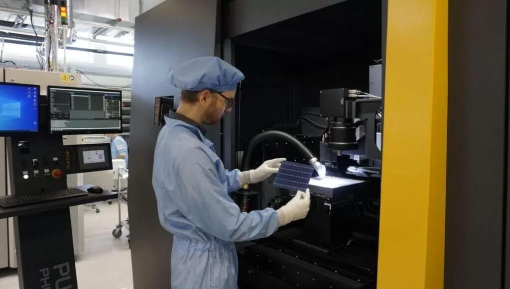 Laseranlage für neues LTF-Verfahren